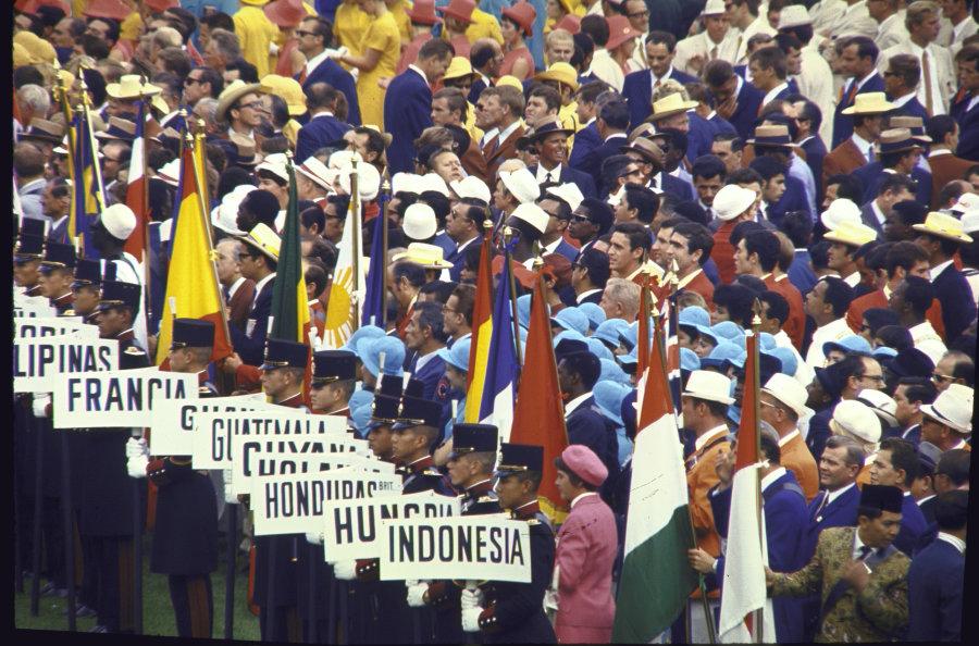 La Clausura De Los Juegos Olimpicos De 1968